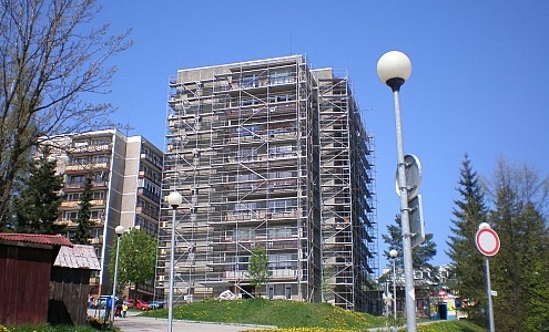 Obnova bytového domu – Námestovo2 | Z - MONT, s.r.o.