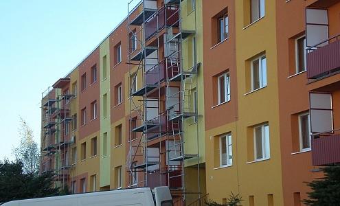 Obnova bytového domu – Trstená | Z - MONT, s.r.o.